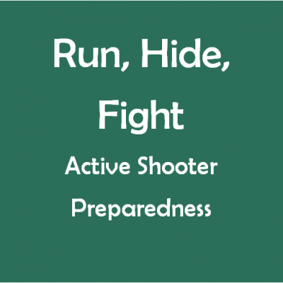 Jan. 28: Run/Hide/Fight